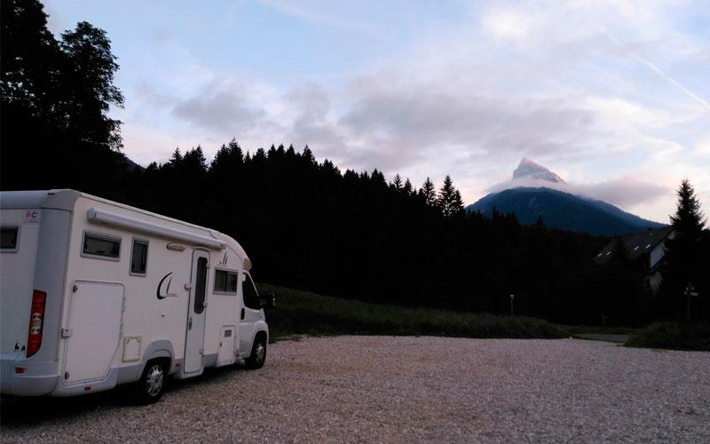 Ruta Grandes Alpes Franceses en autocaravana